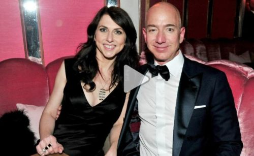 Richest Amazon – Fmr Mrs Bezos is set to become the world's fourth