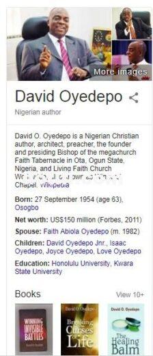 oyedepo