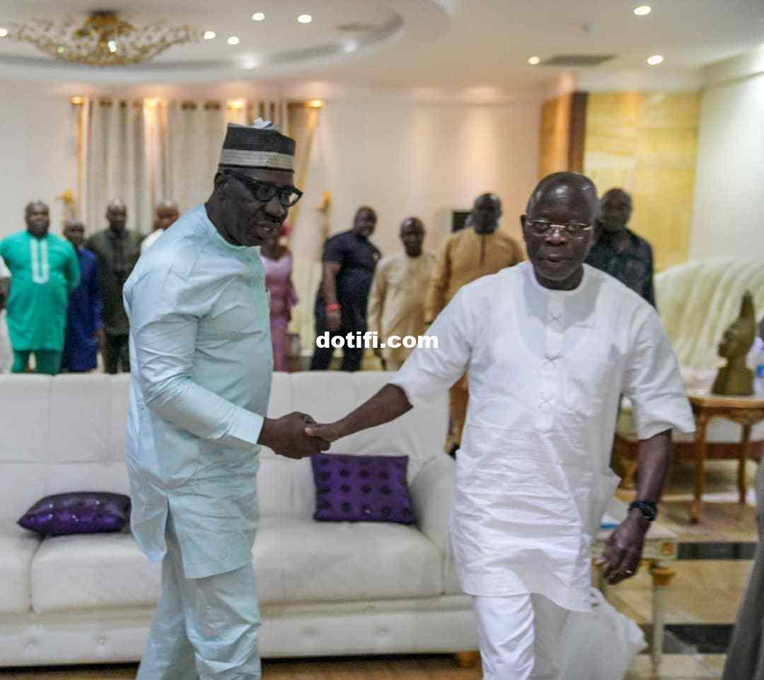 Governor Obaseki visits Adams Oshiomhole2